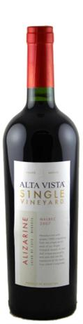Alta Vista Malbec Single Vineyard Alizarine